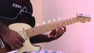E Dorian Scale Lick Tutorial The Music Lab India