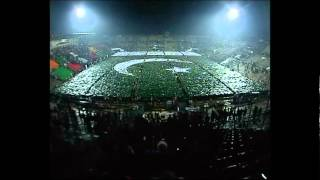 Largest Human Flag footage at Punjab Youth Festival 2014 - in Lahore, Pakistan