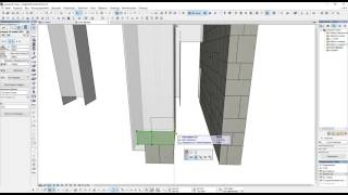 Making facade elements in ArchiCAD