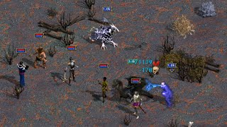 Heroes of Might and Magic IV: Death vs. Chaos Fight