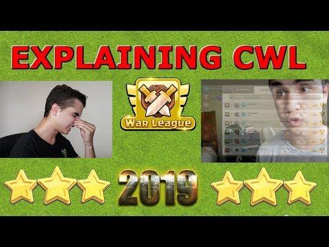 Explaining CWL - Clash of Clans 2019