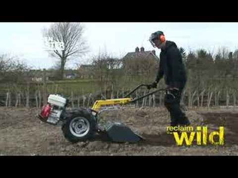 Garden Master Medium Duty Rotavator Hire Station YouTube