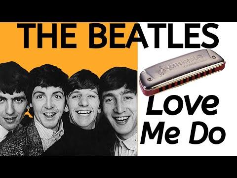 Love Me Do (Beatles) - harmonica lesson