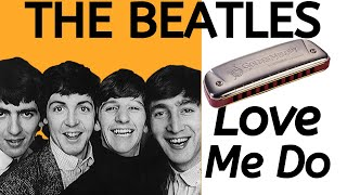 Love Me Do (Beatles) - harmonica lesson