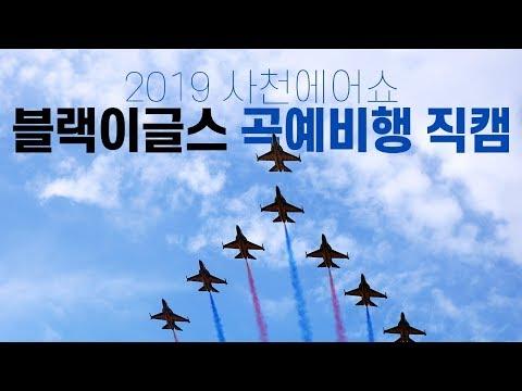 [2019 사천에어쇼] 대한민국 공군 블랙이글스의 화려한 곡예비행 직캠