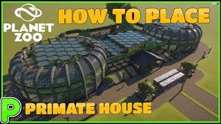 Monkey Mad House - Primate House - HOW TO PLACE TUTORIAL