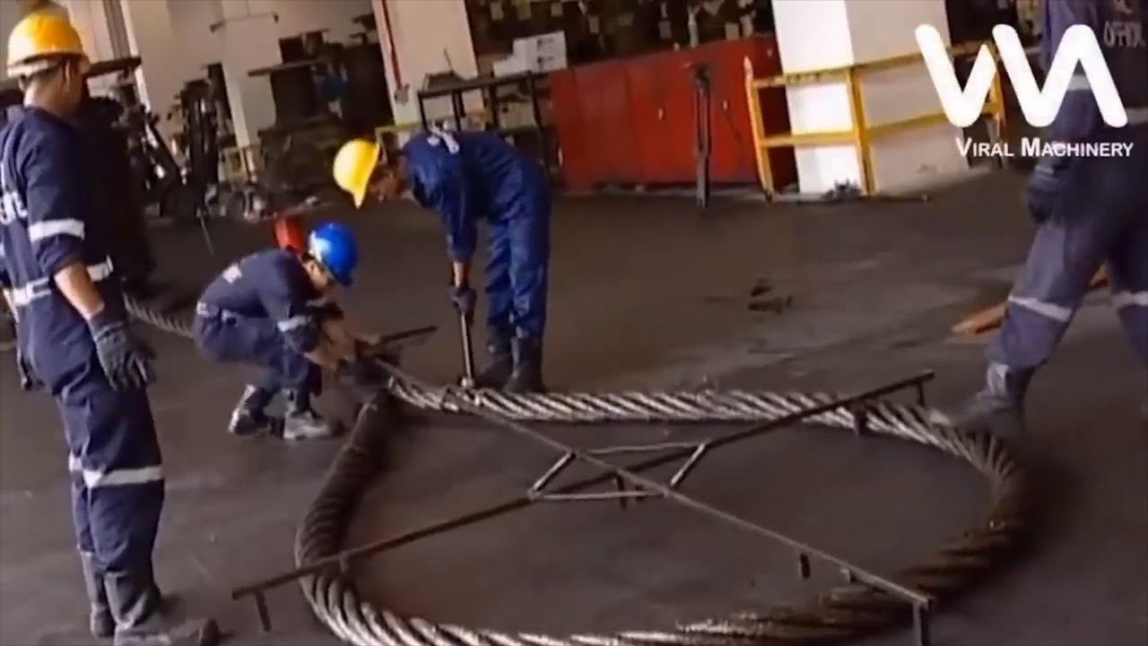 Large Cable Production Process
