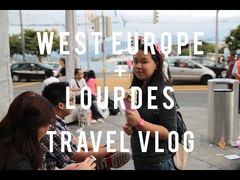 West Europe + Lourdes Travel VLOG