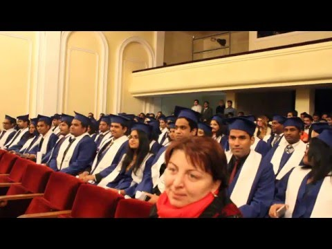 Tbilisi State Medical University - 2016 Graduation -Part 1