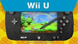 Wii U - Kirby and the Rainbow Curse E3 2014 Announcement Trailer