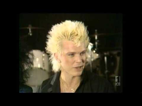 Countdown (Australia)- Molly Meldrum Interviews Billy Idol- March 15, 1987