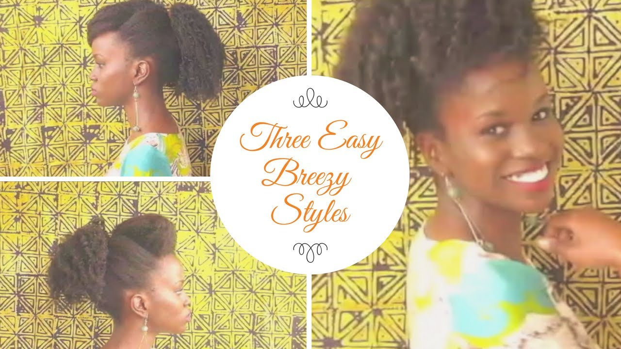 Quick Natural Hairstyles Natural Hair In Kenya Youtube