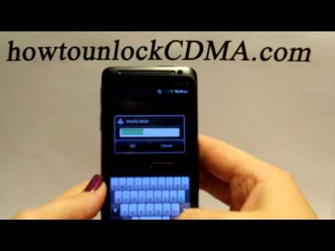 Unlock Sprint HTC Evo Design 4G