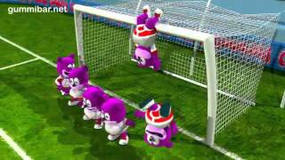 YouTube - Gummibär GO CHAMPION World Cup Soccer-Football Song French Gummy Bear.flv