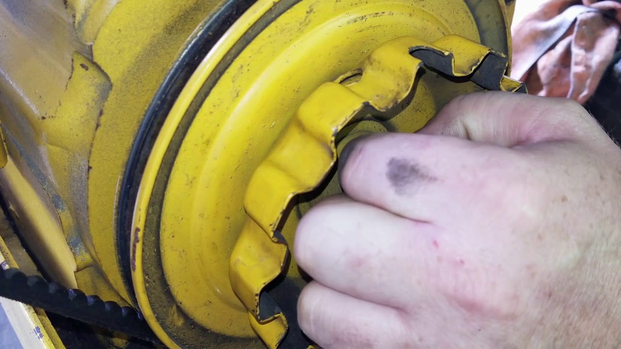 how to remove pto clutch cub cadet