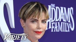 'The Addams Family' Star Charlize Theron on the Film's Immigration Themes