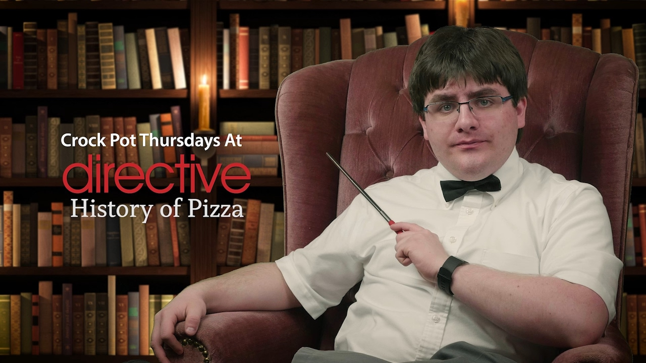 Crock-Pot Thursday at Directive - Pizza History!