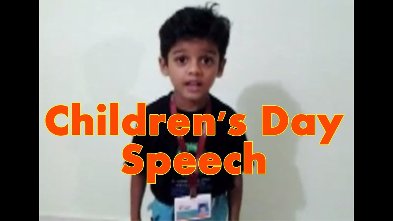 oratorical speech for kids