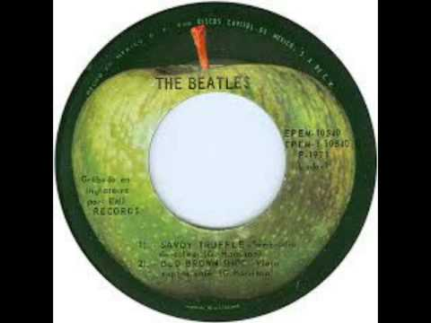 Savoy Truffle - The Beatles - Fausto Ramos