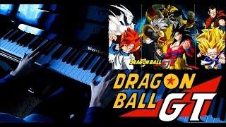 DragonBall GT - Sigla completa - Piano