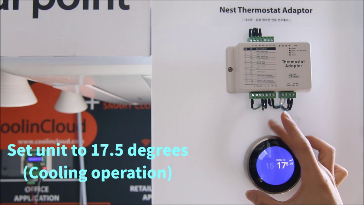 samsung air conditioners works with nest thermostat by Home Fuse Box Wiring