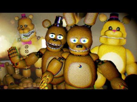Fredbears family diner part 1 spring bonnie and fredbear video