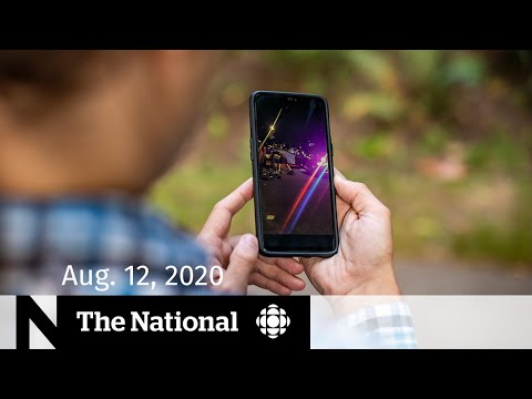 CBC News: The National: CBC News: The National | Aug. 12, 2020 | Violent arrest by Vancouver police caught on video
