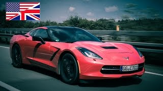 2014 Corvette C7 Stingray Z51 (EU) - Start Up, Exhaust, Test Drive and In-Depth Review (English)