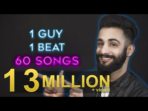 1 GUY  1 BEAT  60 SONGS  Aarij Mirza  Mashup