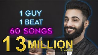 1 GUY | 1 BEAT | 60 SONGS | Aarij Mirza | Mashup