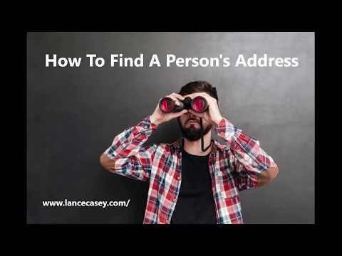 People Search | How To Find Someone's Address Online For Free from YouTube · Duration:  4 minutes 49 seconds