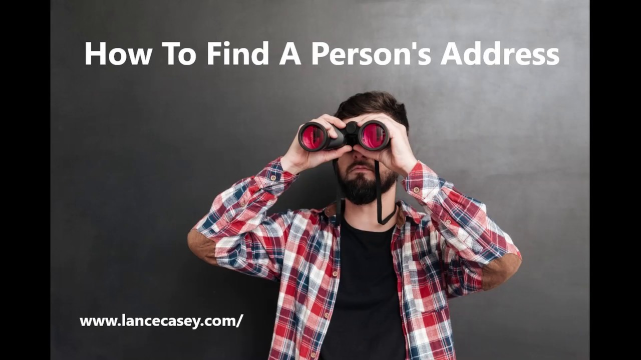 Find A Person's Address | Enter Name, City or State