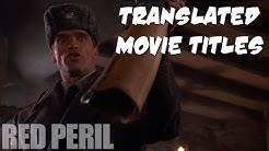 60 Movie Titles in Finnish in English
