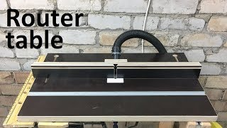 diy router table / how to make portable router table