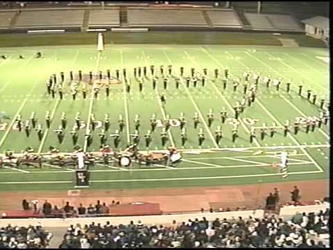 United Township High School Marching Band Finals 1999