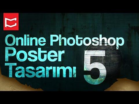 Online Photoshop Poster Tasarımı Dersleri 5 (Manipülasyon Teknikleri)