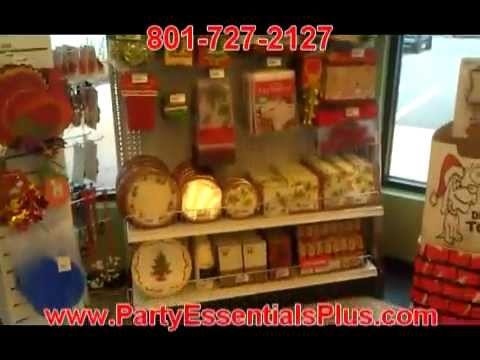 Holiday Party Supplies- Party Supplies Utah