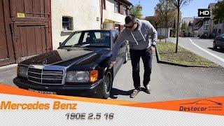 Покупка и обзор Mercedes Benz 190E 2.5 16 в хорошем состоянии
