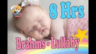 ❤8 HOURS❤ Johannes Brahms - Wiegenlied Lullaby ♫♫♫ Classical music box for babies to go to sleep