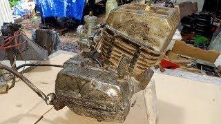 Yamaha125 Engine restoration | Yamaha 125 Two stroke engine rebuild (1979)