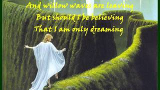 Enya - Anywhere Is - Lyrics on screen
