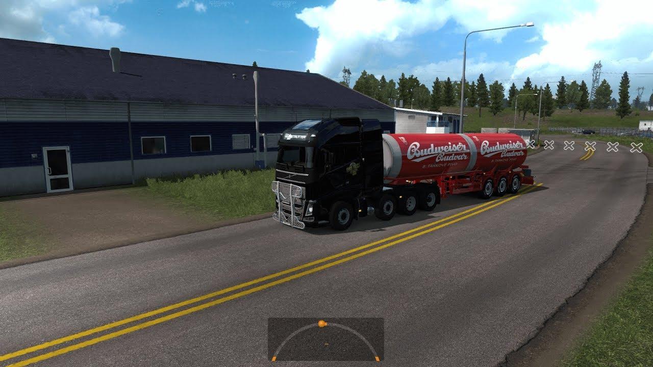 [ETS2] Budvar Can Tanker Trailer skin