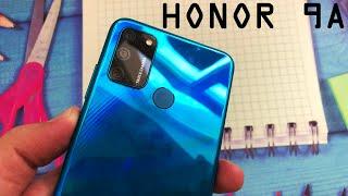 Смартфон HONOR 9A обзор