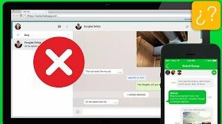 ¿No puedes activar WhatsApp Web?
