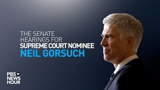 WATCH LIVE: Senate confirmation hearings for Judge Neil Gorsuch - Day 2 thumbnail