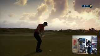 Tiger Woods PGA Tour 14 (Demo) Gameplay With Kinect