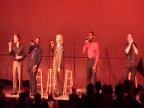 Live ROCKAPELLA commercials Almond Joy, Folgers and more!