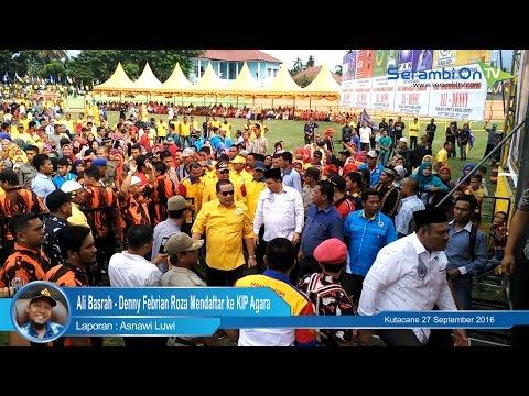 Ali Basrah   Denny Febrian Roza Mendaftar ke KIP Agara