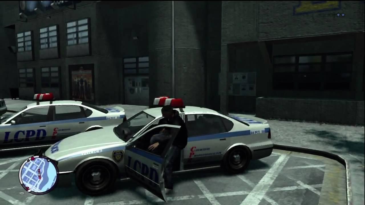 Gta Iv Ballad Of Gay Tony Xbox 360 Quot Police Car Steal