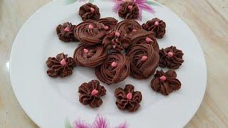 Ab Ghr Pr Bnien crispy,crunchy Nuttella Cookies Sirf 3 Ingridients k sath in urdu/HINDI BY kwf